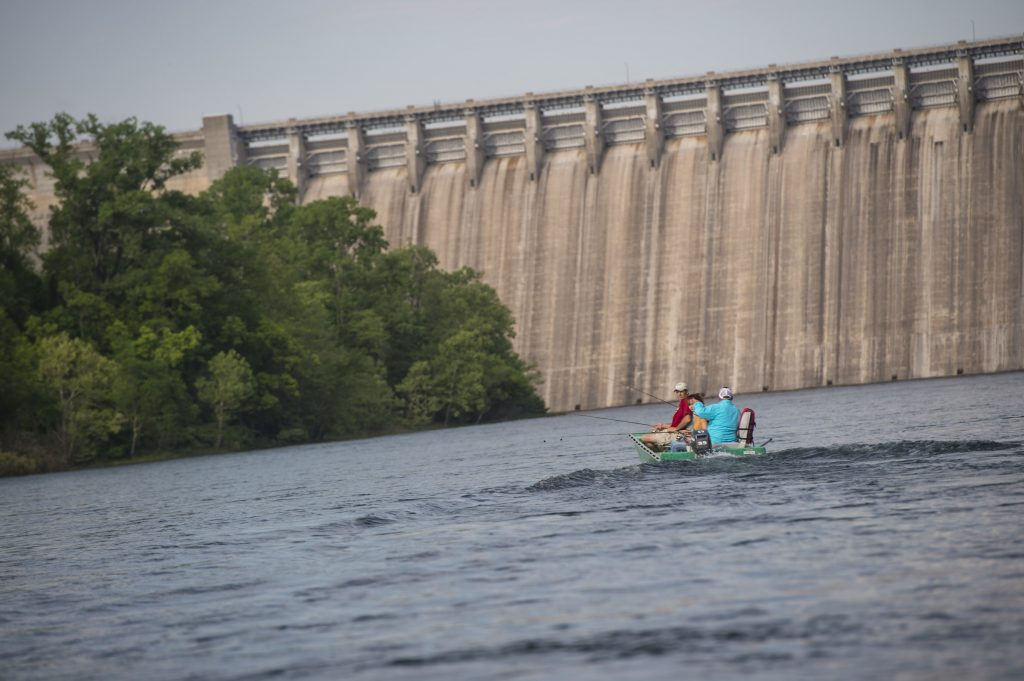Dam in Bull Shoals Arkansas